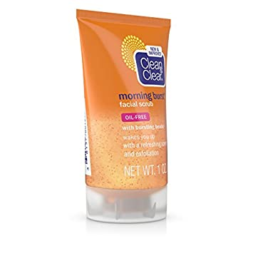 Clean Clear Morning Burst Facial Cleanser For Daily Skincare Routines, 1 Fl. Oz. Pack of 24