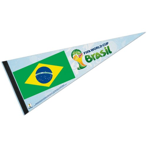 Brazil FIFA World Cup Brasil Pennant and Banner