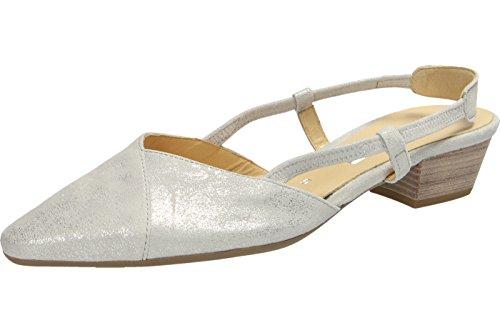 Gabor65.633.61 - Zapatos con correa de tobillo Mujer gris claro