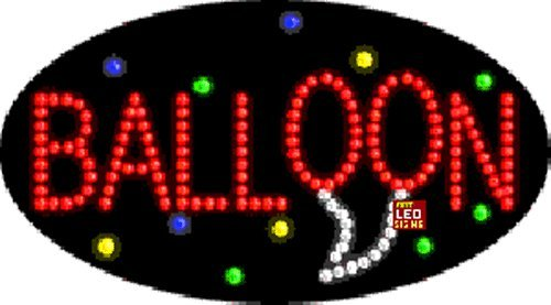 """15""""x27"""" Animated Baloon LED Sign - Outdoor"""