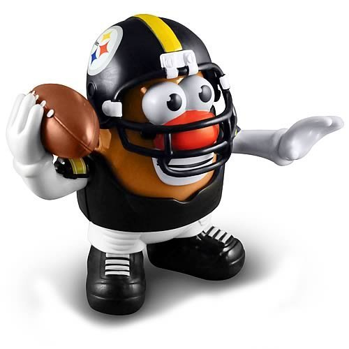 Steelers Pittsburgh Gnome (Pittsburgh Steelers NFL Mr Potato Head Toy)