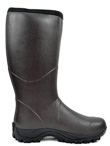 Arctiv8 Mens Stivali Da Neve Invernali Impermeabili 3-marrone