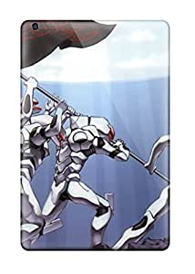 Mini Scratch-proof Protection Case Cover For Ipad/ Hot Neon Genesis Evangelion Phone Case