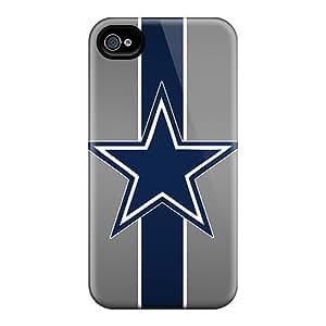 InesWeldon Iphone 6 High Quality Hard Phone Cover Custom Realistic Dallas Cowboys Pattern [JCO3216pjyp]
