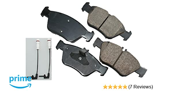 Rear Euro Ultra Premium Ceramic Pads Akebono EUR1095 Disc Brake Pad