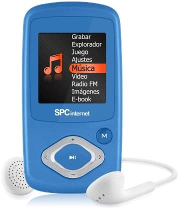 SPC Internet 8224A - Reproductor de MP3 (4 GB de capacidad ...
