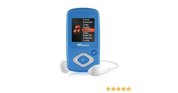 SPC Internet 8224A - Reproductor de MP3 (4 GB de capacidad ...