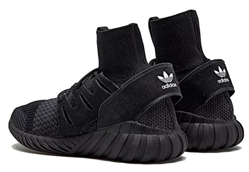 Adidas Tubular Doom PK Black Sneakers with collar and elastic band Core Black/ Night Grey/FTW White oFsSl