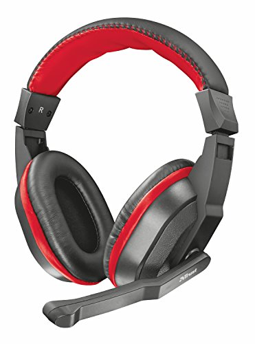 🥇 Trust Ziva – Auriculares Gaming Over-Ear con micrófono