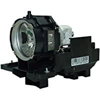 AuraBeam Economy Hitachi CPX605LAMP Projector Replacement Lamp with Housing