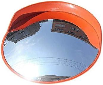 Geng カーブミラー 安全凸面鏡、多機能屋外耐久性に優れたPC広角レンズ、安全に道路やショップを確認してください