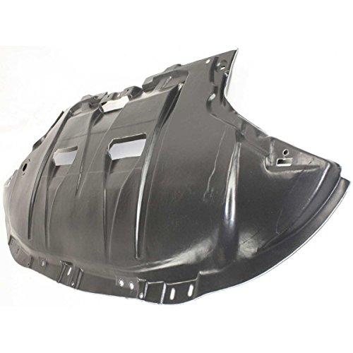 - Diften 199-C3521-X01 - New Engine Splash Shield Front Sedan Audi A4 Quattro AU1228102 8E0863821AL