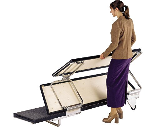 Midwest Folding Products TransFold Choral Risers (Open Tubular Frame)
