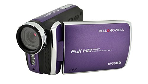 Bell+Howell DV30HD-P HD Video Camera with 3