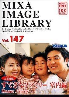 MIXA IMAGE LIBRARY Vol.147 すてきなファミリー 室内編 B0000C5O1M Parent