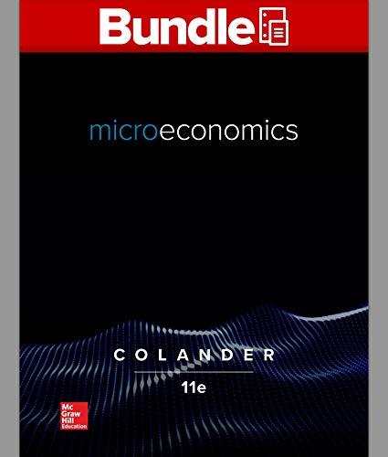 GEN COMBO LL MICROECONOMICS; CONNECT ACCESS CARD MICROECONOMICS