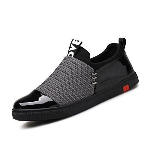 Shoes Men Sport Shoes Spring Summer Fall Light Soles Tulle Outdoor Athletic Flat Heel Fitness & Cross Training (Color : Black Size : 38)