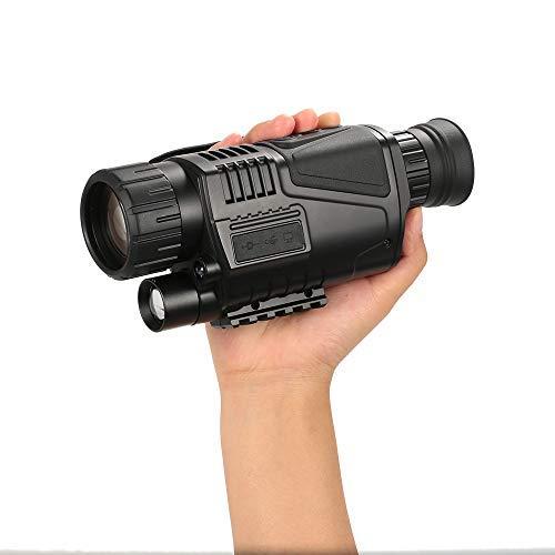 Lixada Monocular Telescopes 5x40 Low Night Vision Telescope with Camera Video Recorder Camcorder Function by Lixada