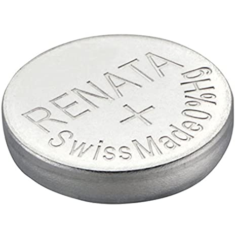 Renata 377 SR626SW - Pilas para Reloj (óxido de Plata, 1,55 V