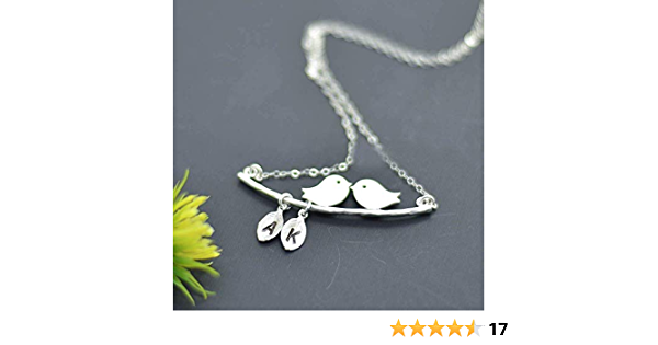 Three Small Bird NecklaceBoho NecklaceNature NecklaceWoodland NecklaceNature JewelleryRustic WeddingBridesmaid GiftBird Necklace
