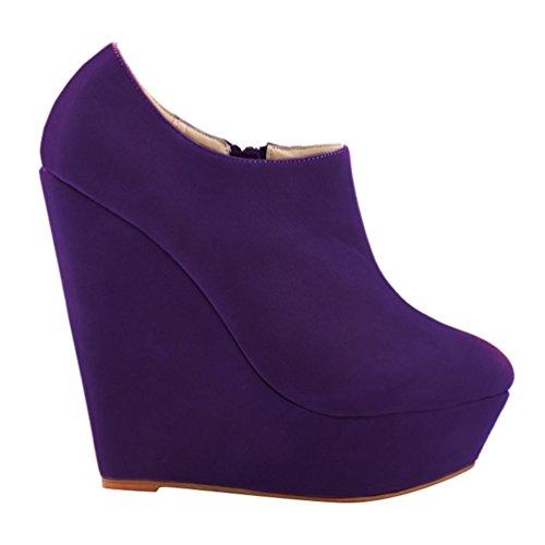 Talons Hiver Mode Femmes Bottines Chaussures Bottes Bottes Nouveaux Plateforme WanYang Hiver Talon Haut Automne bas wEZqIUT