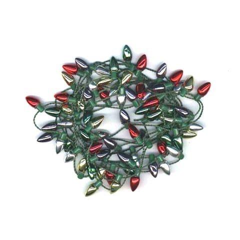 - Garland - Metallic Mini Light Bulb - 8mm x 6 feet