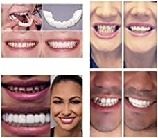 4Pcs/Set Natural Cosmetic Fake Tooth, Adult Perfect Smile