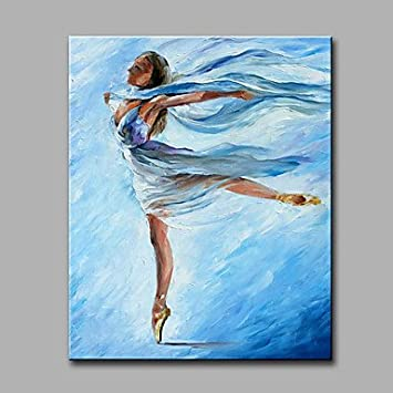 Hy & GG Gemälde Ballerina Abstrakte Horizontal klassisch modern ...