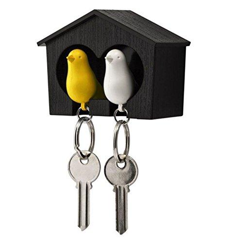 Llavero casa de pájaros, Duo Sparrow Keyring: Amazon.es: Hogar