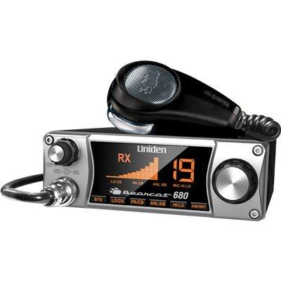 Uniden Bearcat 680 CB Radio with Ergonomic Pistol Grip Mic