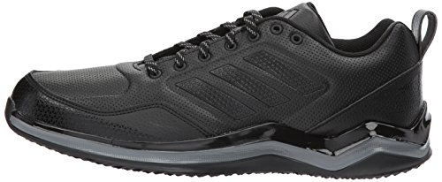 online store c5625 cd1b4 adidas Men's Freak X Carbon Mid Cross Trainer, Black/Iron, 13 Medium US