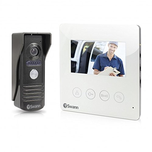 "Swann Swhom-Dp875c-Us Doorphone Video Intercom With 4.3"" ..."