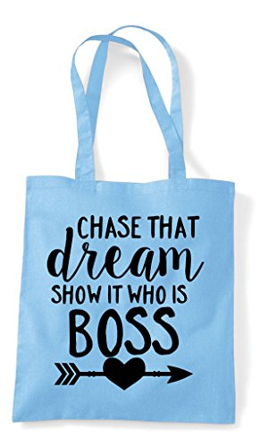 Who Blue Chase Statement Is Show Tote It That Sky Bag Boss Shopper Dream xIwqI7f