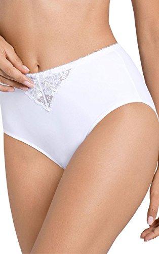 Triumph Modern Posy Maxi Brief Knickers Underwear White USMedium