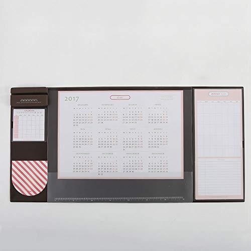 WPCBAA 4 Colores de Caramelo Plumas multifuncionales Plumas de Escritura 2018 2019 Calendario Mat Cojín de Aprendizaje...