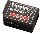 Futaba R114F 4-Ch FM 72MHz High Receiver without Crystal