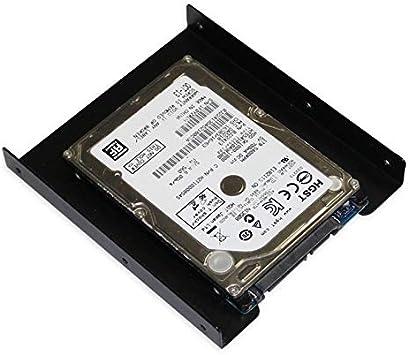 CamKpell HolderSSD Tray 2.5 Pulgadas a 3.5 Pulgadas SSD HDD ...