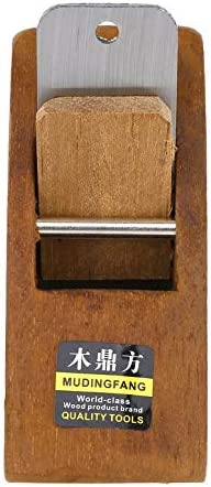 108MM Hogar y jard/ín Mini plano de carpinter/ía Cepillo de mano de madera Herramienta de bricolaje Carpintero Woodcraft Cepillado de mano