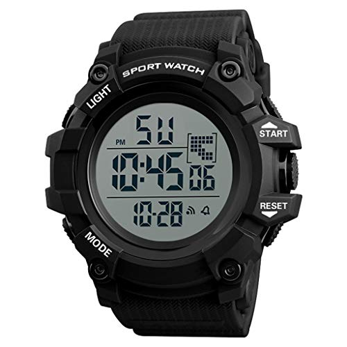 (TIFENNY Wrist Watch for Men Analog Digital Outdoor Watch Military Casual Sport LED Waterproof Watch)
