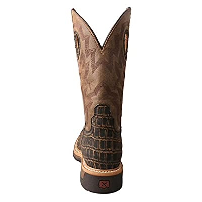 Twisted X Mens Caiman Print Work Boot | Industrial & Construction Boots