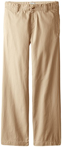 The Children's Place Big Boys' Chino Pant, Flax, 8