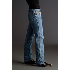 Cinch Men's Jeans Bronze Label Slim Fit Midstone 36W x 36L