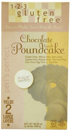 Com 123 Gluten Free Peri S Perfect Chocolate Bundt Poundcake Mix 38 08 Ounce Bo Pack Of 3 Cake Mi Grocery Gourmet Food