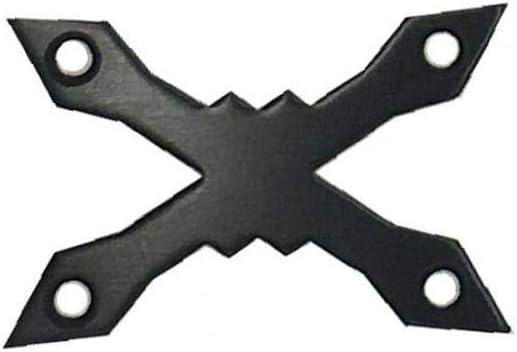 Monopat/ín Junta 2pcs Aleaci/ón De Aluminio De La Cubierta De Longboard Protect Junta Anti Hundimiento del Coj/ín De Hardware del Monopat/ín De Piezas