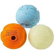 Chuckit! Fetch Medley 3 Unique Balls Medium Multicolor