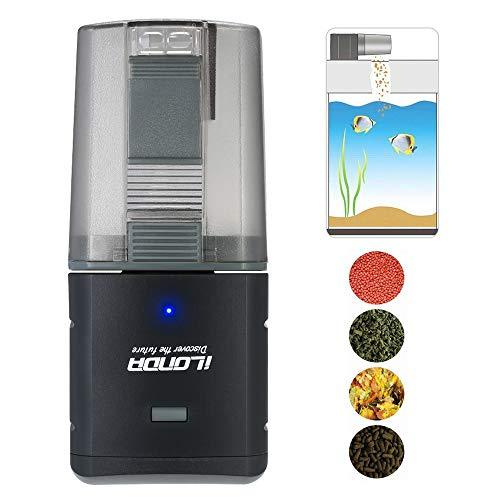 Decdeal - Dispensador automático de Alimentos para Acuario, Salida Ajustable, Control de App, Control de Voz Compatible con Alexa iLONDA: Amazon.es: Hogar