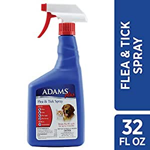 Amazon Com Adams Plus Flea And Tick Spray For Cats And