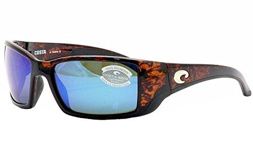 Costa Blackfin Sunglasses Tortoise Frame Blue Mirror