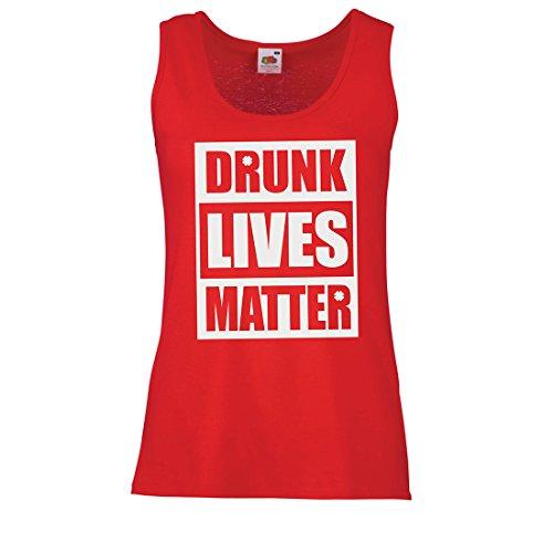(lepni.me Womens Tank Tops Drunk Lives Matter Funny Saint Patricks Shirts, St Patty's Day Clothing (Medium Red Multi Color))