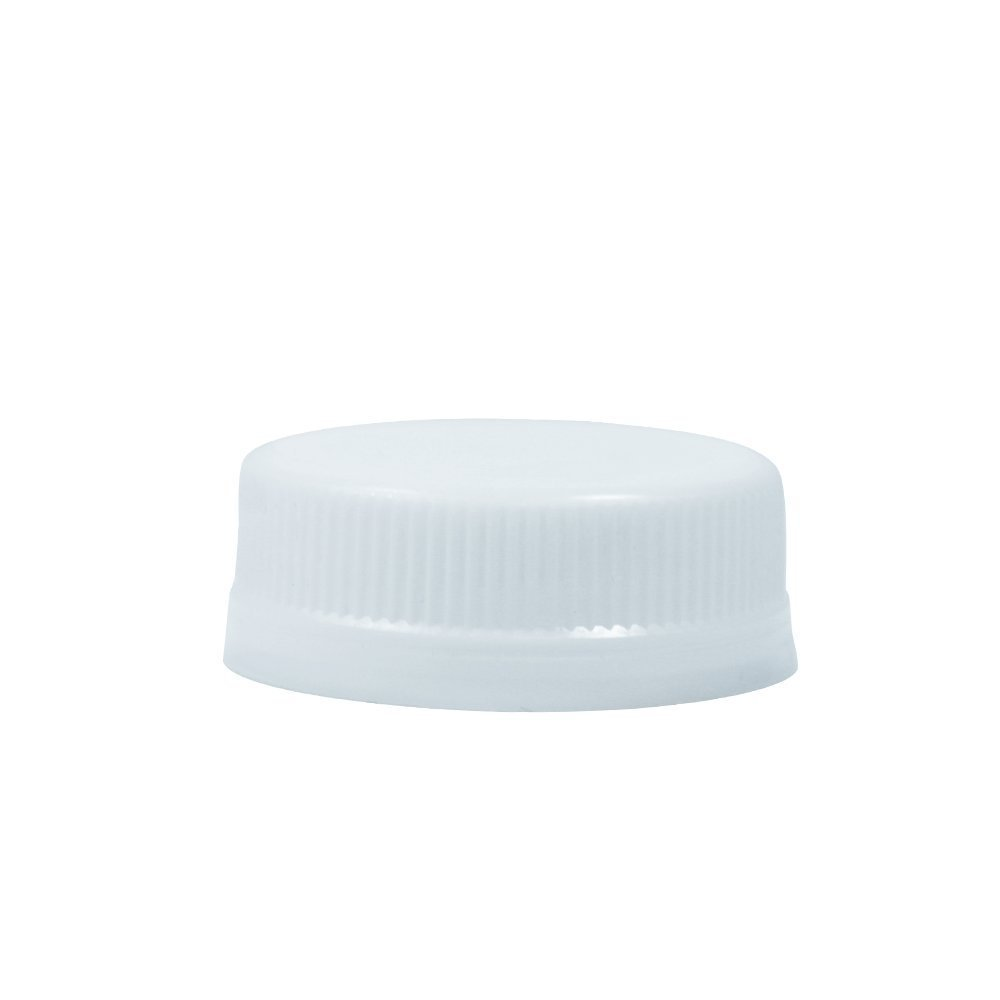 White Lid for PET Juice Bottle 4, 8, 12, 16 & 32 oz. - 2500 per case